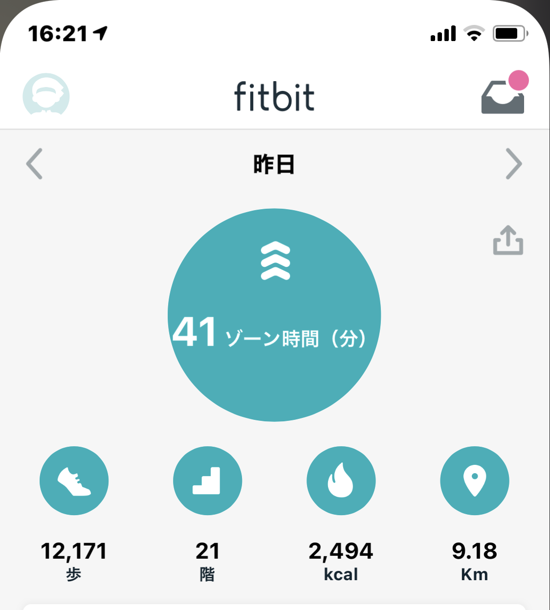 ライザップ・トレーニングの目標→脂肪燃焼を追求すると、活動計Fitbitに出会いました。