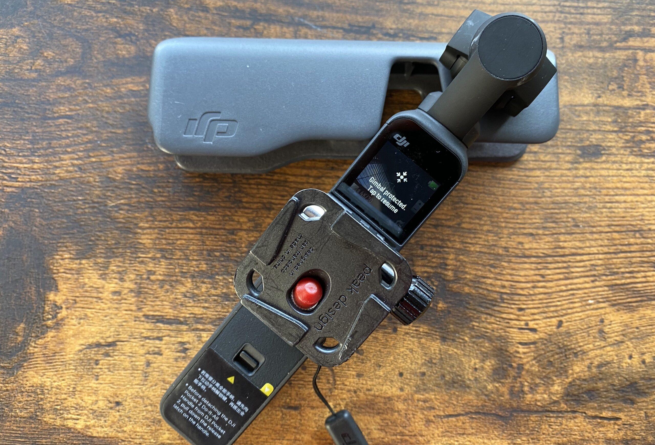 DJI Pocket 2は使いづらい。モニターの小ささがシニアに辛くて、それを補うスマホ連動もなかなかこなせない。